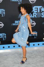 YARA SHAHIDI at BET Awards 2017 in Los Angeles 06/25/2017