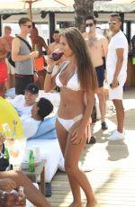 YAZMIN OUKHELLOU in Bikini at a Beach in Marbella 06/10/2017