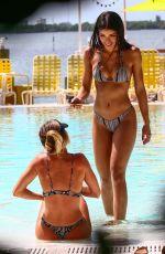 YOVANNA VENTURA in Bikini at a Pool in Miami 06/22/2017