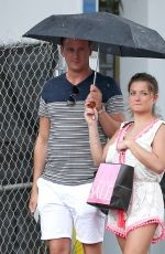 ZARA HOLLAND Out Shopping in Miami 06/20/2017