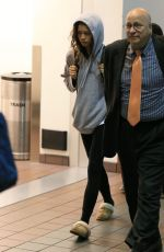 ZENDAYA COLEMAN at Los Angeles International Airport 06/26/2017
