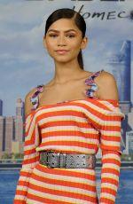 ZENDAYA COLEMAN at Spiderman: Homecoming Photocall in New York 06/25/2017