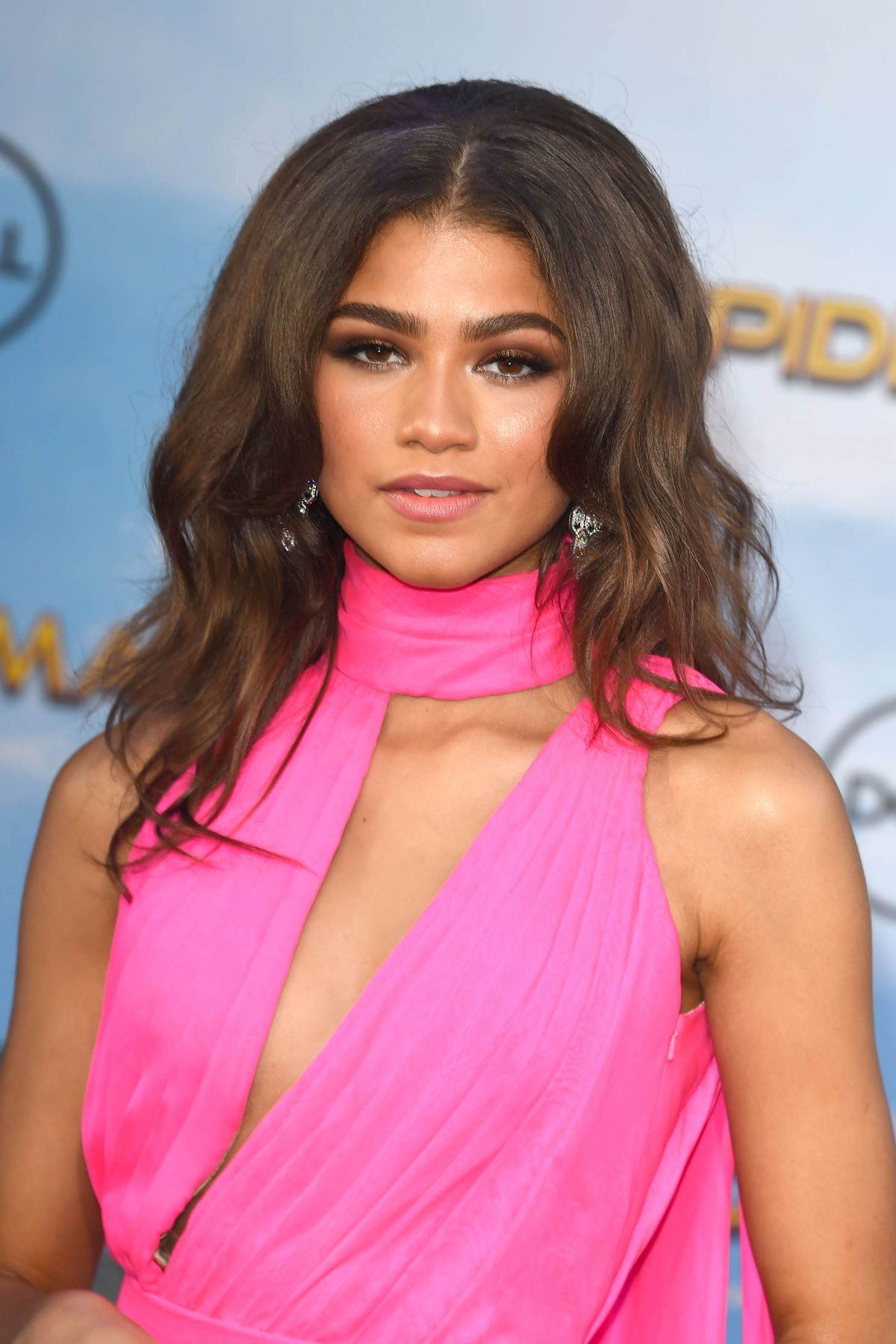 Zendaya Coleman At Spiderman Homecoming Premiere In Los