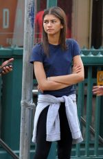 ZENDAYA COLEMAN Out and About in New York 06/21/2017