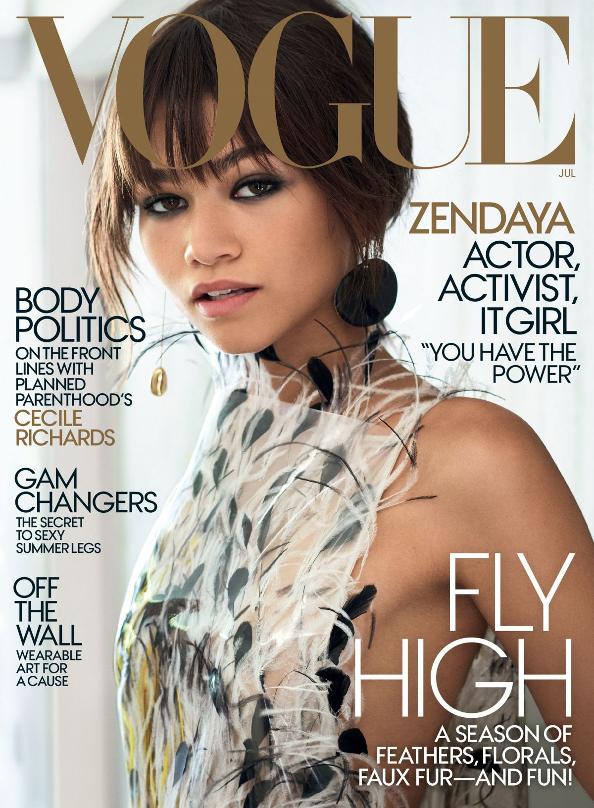 ZENDAYA for Vogue Magazine, July 2017