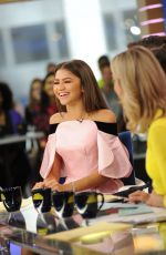 ZENDAYA on the Set of Good Morning America in New York 06/20/2017