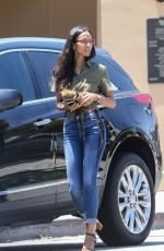 ZEO SALDANA in Jeans Out in Beverly Hills 06/26/2017