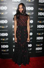 ZOE SALDANA at Nalip Latino Media Awards in Los Angeles 06/24/2017