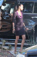 ZOE SALDANA Celebrates Her 39th Birthday in Los Angeles 06/19/2017