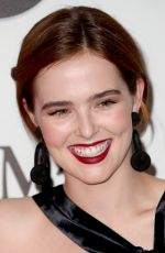 ZOEY DEUTCH at Women in Film 2017 Crystal + Lucy Awards in Beverly Hills 06/13/2017