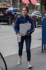 ZOEY DEUTCH on the Set of Set It Up in New York 06/09/2017