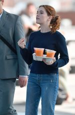 ZOEY DEUTCH on the Set of Set It Up in New York 06/15/2017