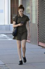 ZOEY DEUTCH Out and About in New York 06/02/2017