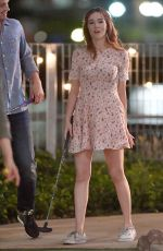 ZOEY DEUTCH Play Mini Golf on the Set of Set It Up in New York 06/15/2017