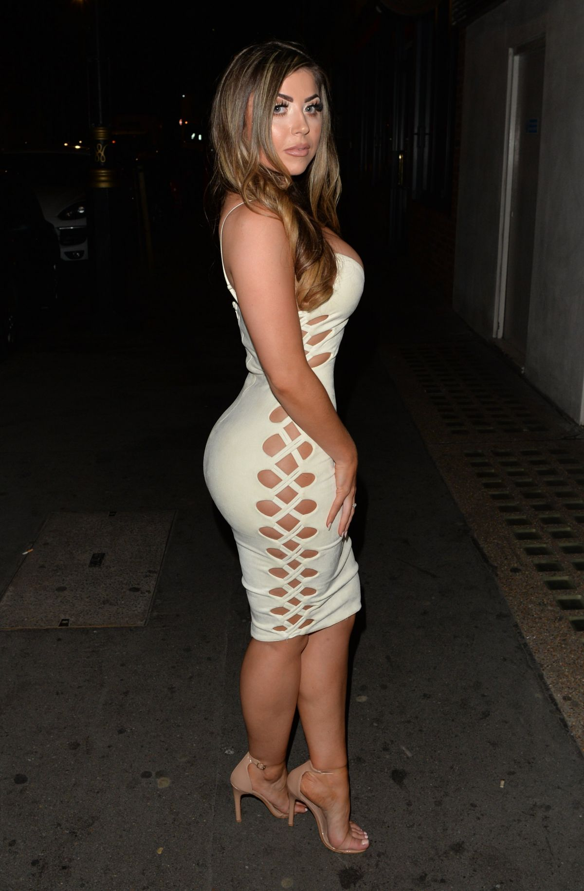 ABI CLARKE Night Out in London 07/09/2017