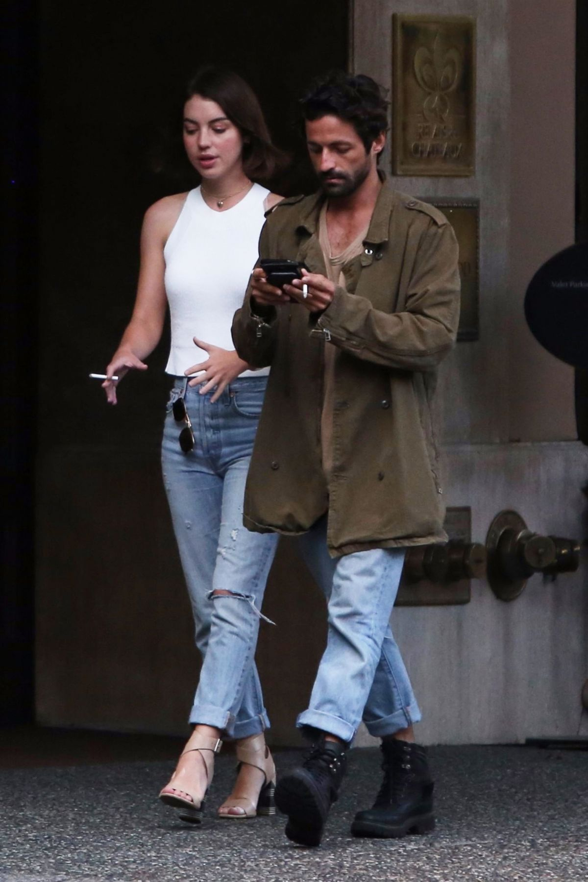 Adelaide Kane Out For Dinner In Vancouver 07 13 2017