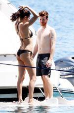 ADRIANA LIMA in Bikini on the Boat in Bodrum 07/14/10`7