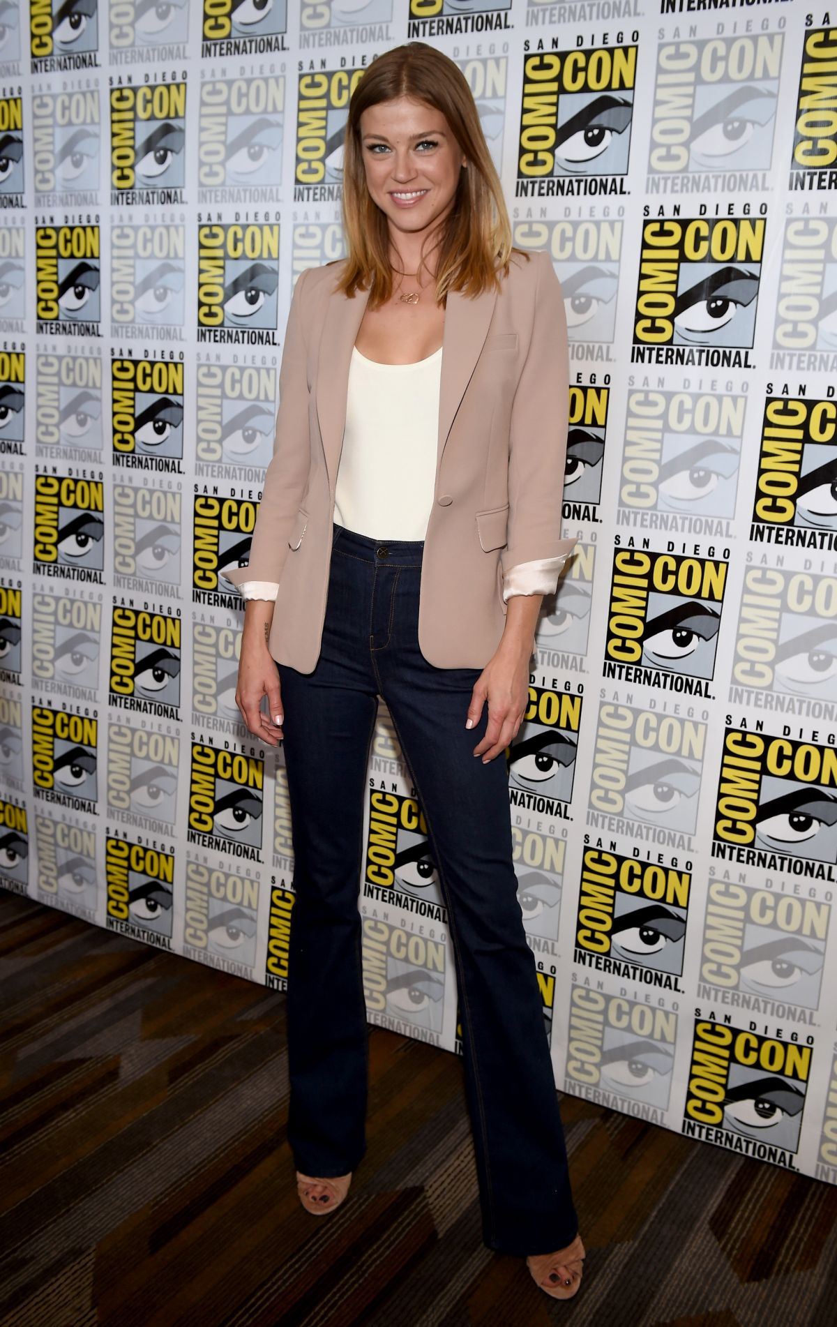 ADRIANNE PALICKI at The Orville Panel at Comic-con in San Diego 07/22/2017