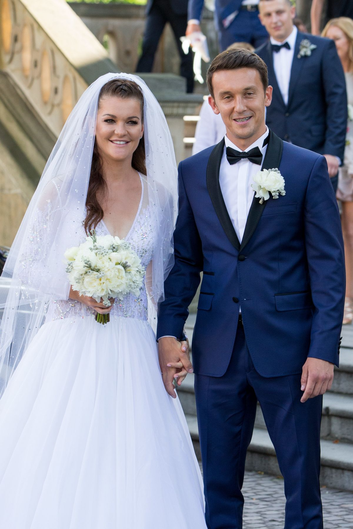 AGNIESZKA RADWANSKA Marries Dawid Celt in Cracow 07/22/2017