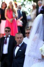 AGNIESZKA RADWANSKA Marries Dawid Celt in Cracow 07/22/2017