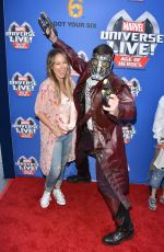 HAYLIE DUFF at Marvel Universe Live Premiere in Los Angeles 07/08/2017