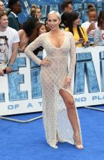 AISLEYNE HORGAN WALLACA at Valerian and the City of a Thousand Planets Premiere in London 07/24/2017