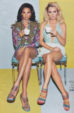 ALESHA DIXON and AMANDA HOLDEN in Fabulous Magazine, June 2017