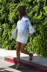 ALESSANDRA AMBROIO on the Set of a Photoshoot in Los Angeles 07/29/2017