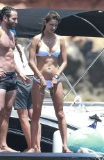 ALESSANDRA AMBROSIO and Friends at a Yacht in Ibiza 07/11/201