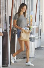 ALESSANDRA AMBROSIO at Earth Cafe in Beverly Hills 07/25/2017