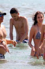 ALESSANDRA AMBROSIO in Bikini at a Beach in Mykonos 07/01/2017