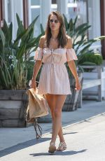 ALESSANDRA AMBROSIO Out and About in Brentwood 07/26/2017