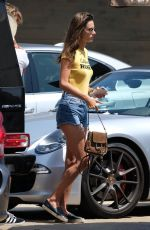 ALESSANDRA AMBROSIO Out for Lunch at Nobu in Malibu 07/23/2017