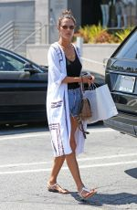 ALESSANDRA AMBROSIO Shopping at Brentwood Country MMarket 07/21/2017