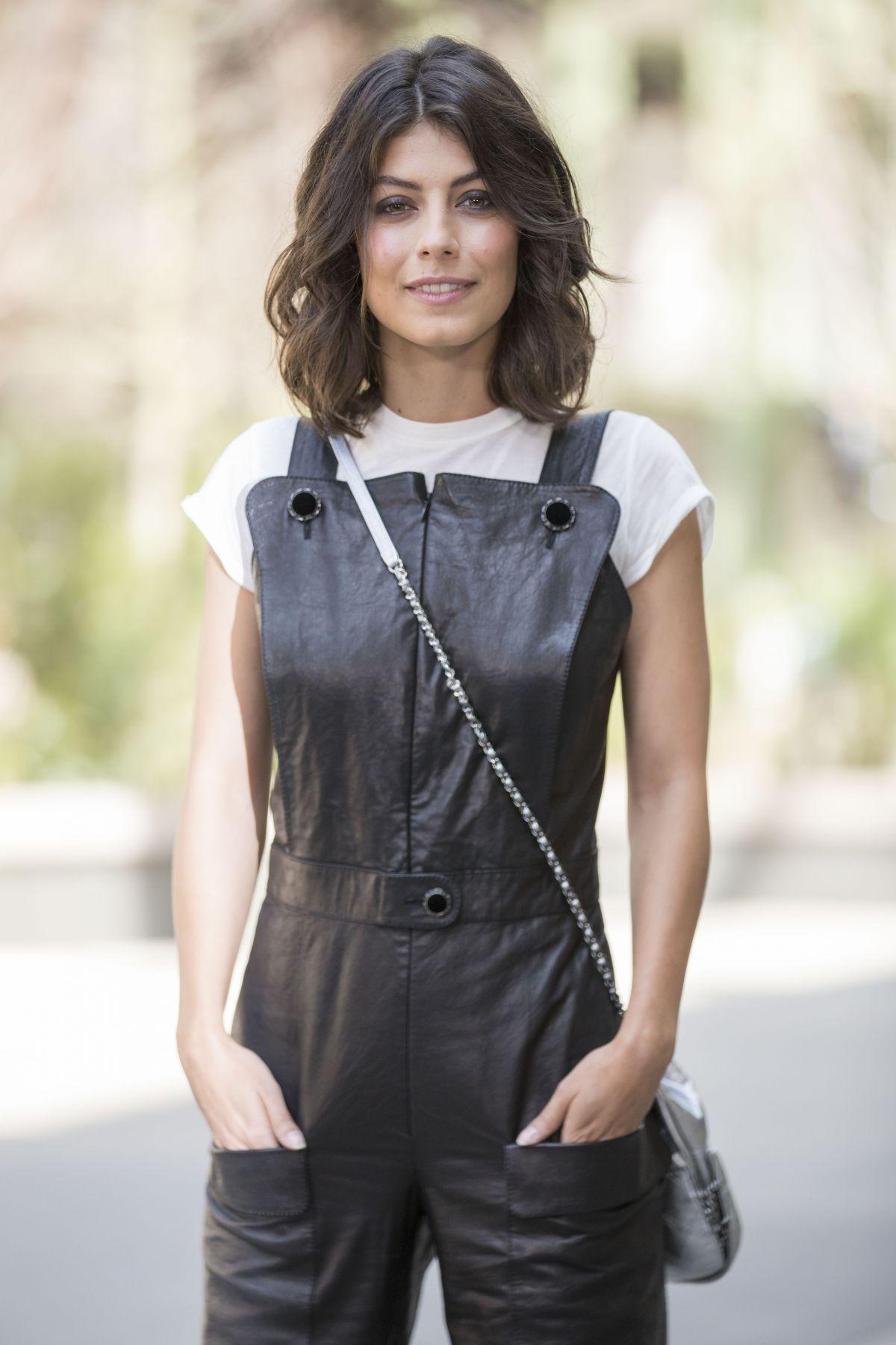 ALESSANDRA MASTRONARDI at Chanel Fashion Show in Paris 07/04/2017