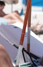 ALEXANDRA RODRIGUEZ in Bikini at a Beach in Miami 07/27/2017