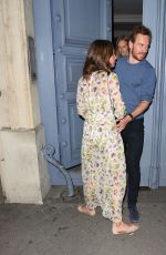 ALICIA VIKANDER and Michael Fassbender Out in Paris 07/03/2017
