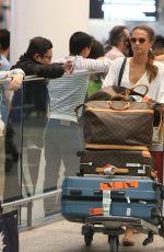 ALICIA VIKANDER Arrives at Airport in Toronto 07/15/2017
