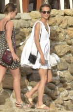 ALICIA VIKANDER Heading to a Private Yacht in Ibiza 07/07/2017