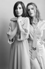 ALISON BRIE and BETTY GILPIN for W Magazine, July 2017
