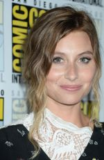 ALY MICHALKA at Izombie Press Line at Comic-con in San Diego 07/21/2017