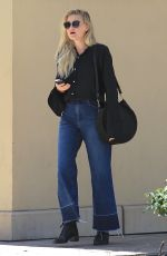 AMANDA AJ MICHALKA Out for Lunch at Bouchon in Beverly Hills 06/28/2017