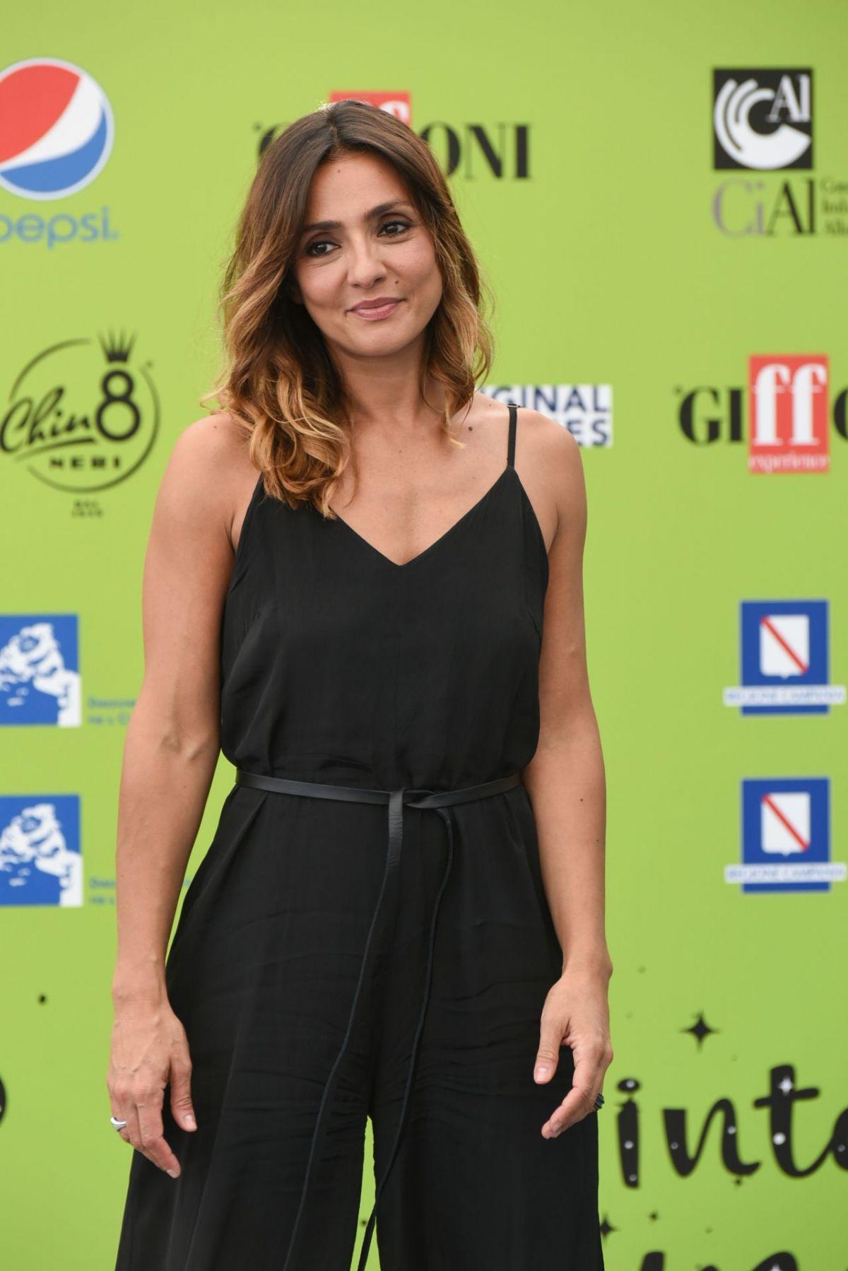AMBRA ANGIOLINI at Giffoni Film Festival in Giffoni Valle Piana 07/21/2017