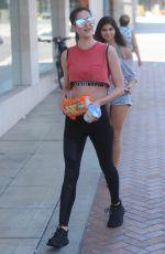 AMELIA HAMLIN in Leggings Out in Beverly Hills 07/12/2017
