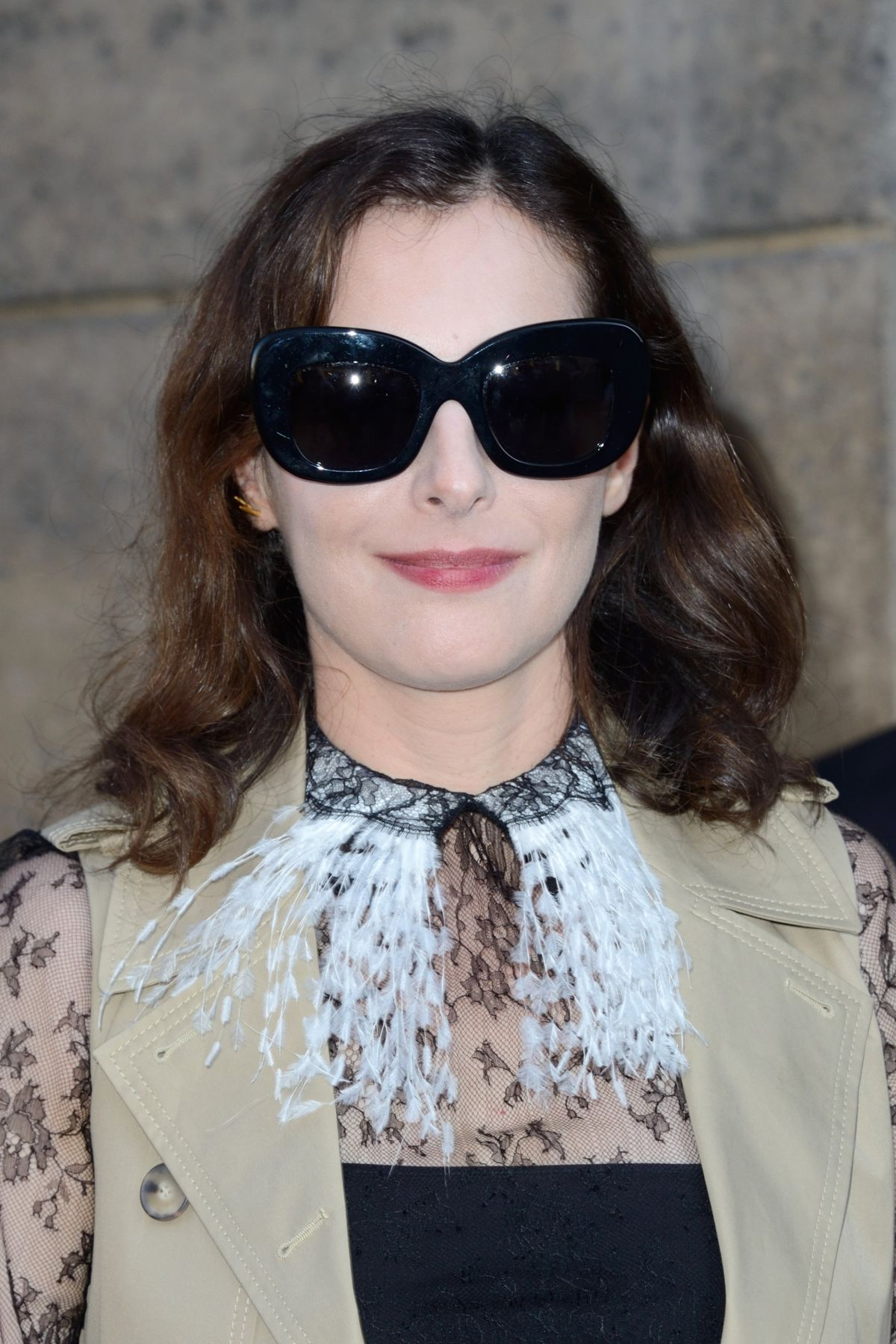 AMIRA CASAR at Christian Dior Show at Haute Couture Fashion Week in Paris 07/03/2017