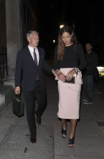 ANA IVANOVIC and Bastian Schweinsteiger Night Out in London 07/06/2017