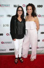 ANDIE MACDOWELL at Outfest Screening in Los Angeles 07/07/2017