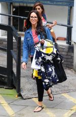 ANDREA MCLEAN Arrives at ITV Studios in London 07/20/2017