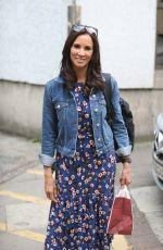 ANDREA MCLEAN Leaves ITV Studios in London 07/10/2017