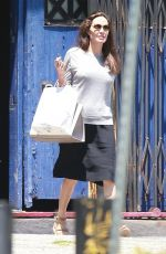 ANGELINA JOLIE Leaves a Toy Store in Los Angeles 07/07/2017